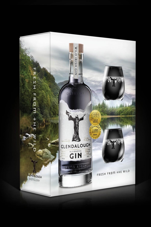 GLENDALOUGH WILD GIN GIFT PACK