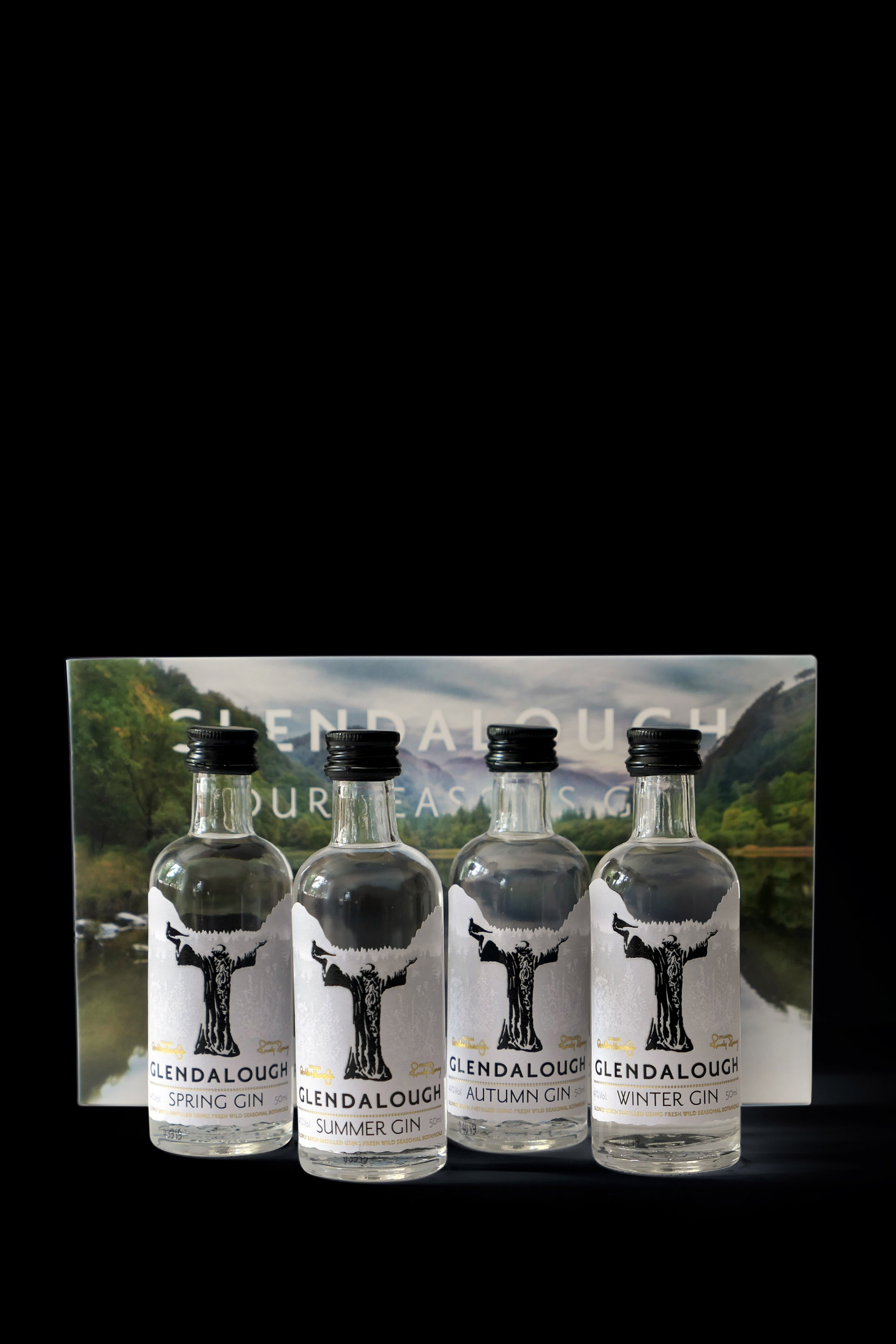 Glendalough Gin Miniature 4 Pack